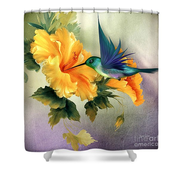 Tiny Wings Shower Curtain