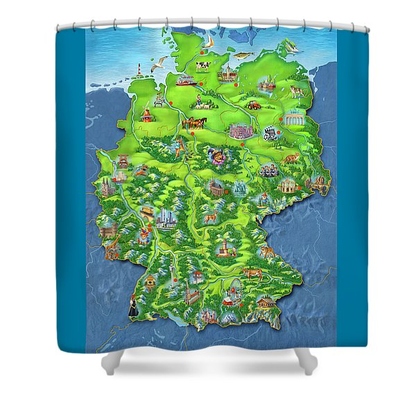 tiptoi_Puzzle Shower Curtain