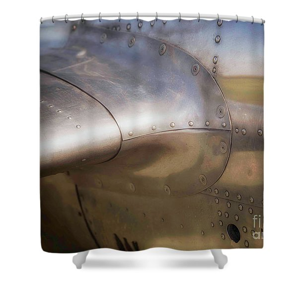 To Escape The Land Shower Curtain