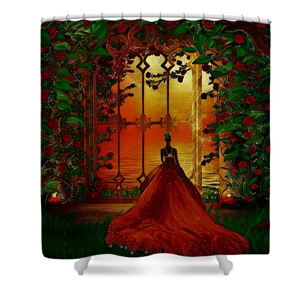 To The Ballroom Shower Curtain