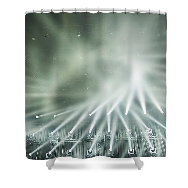 Tokyo Lights IIi Shower Curtain