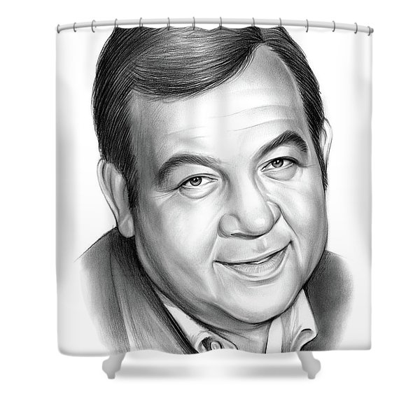 Tom Bosley Shower Curtain
