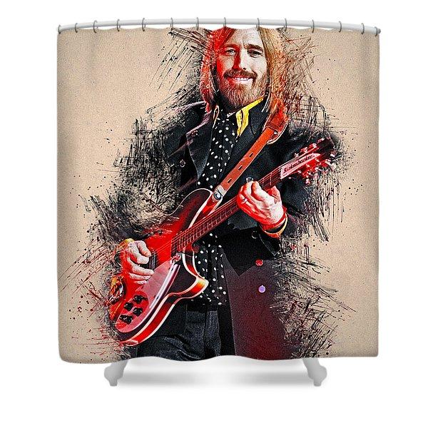 Tom Petty - 35 Shower Curtain