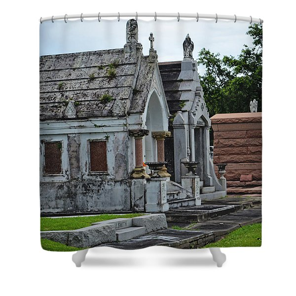 Tombs And Graves Shower Curtain