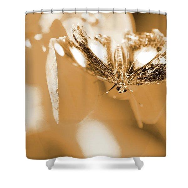Toned Tropics Shower Curtain