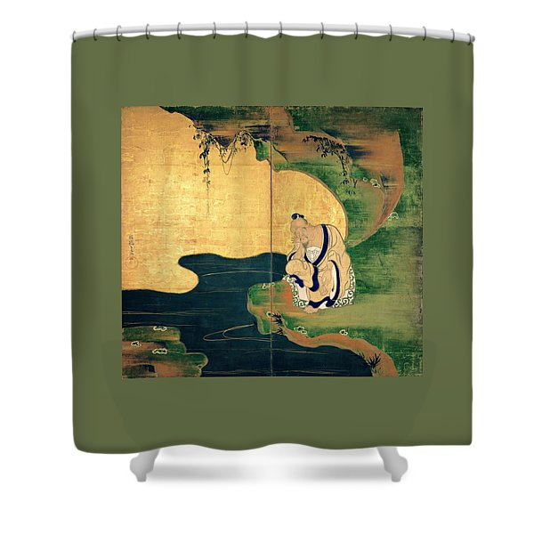 Top Quality Art - Tai Gong Wang Shower Curtain