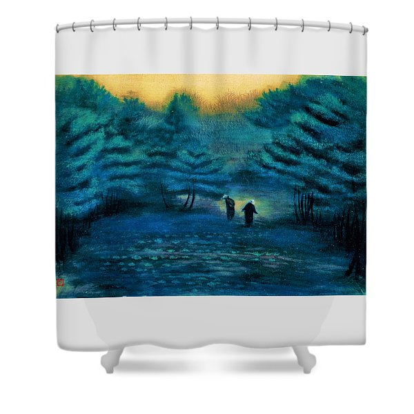 Top Quality Art - Treading Barley Shower Curtain