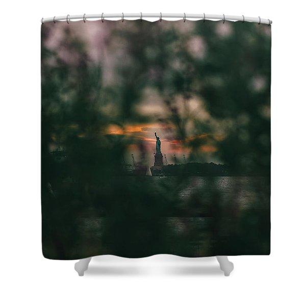 Torchlight Shower Curtain