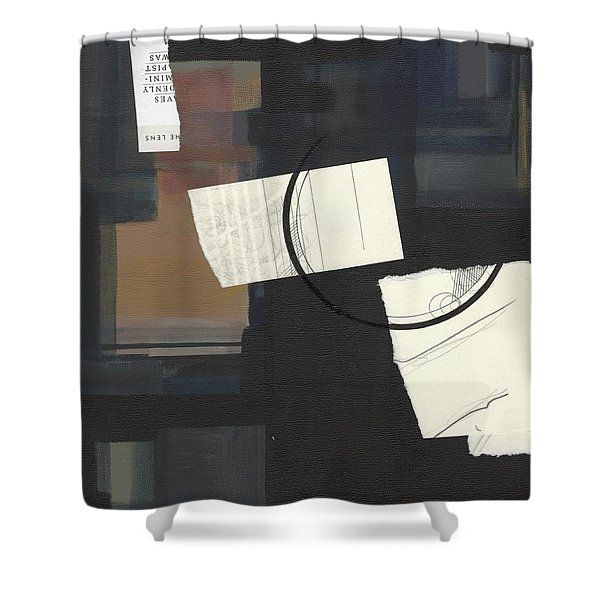 Torn Beauty No. 6 Shower Curtain