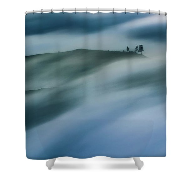 Touch Of Wind Shower Curtain