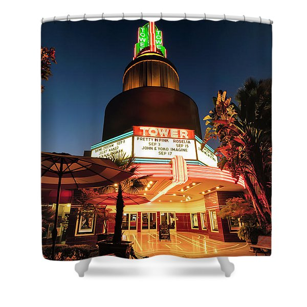 Tower Theater- Shower Curtain