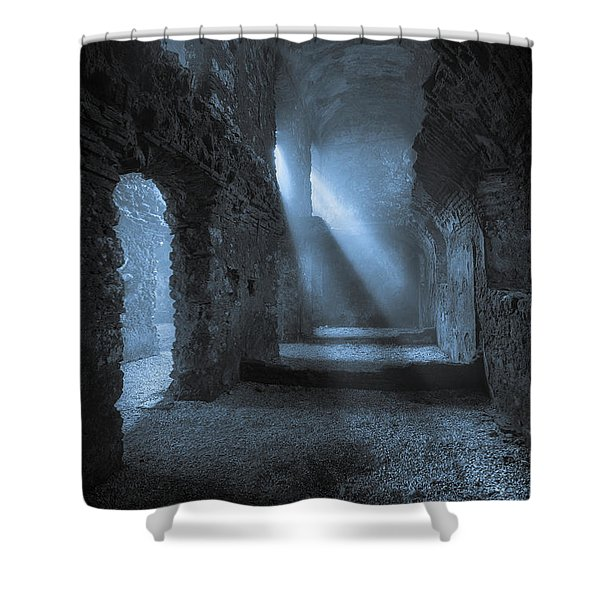 Traces Of The Past Shower Curtain