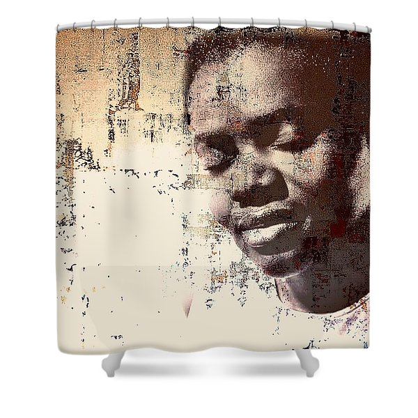 Tracy Chapman Shower Curtain