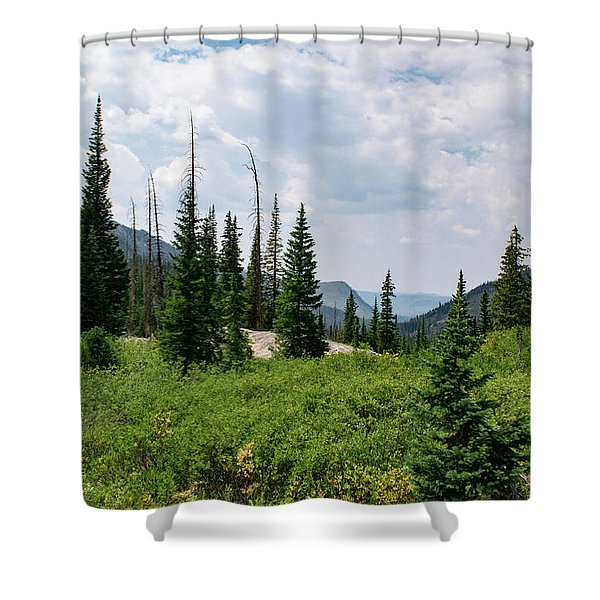 Trail To Gilpin Lake Shower Curtain