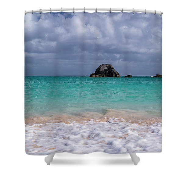 Tranquil Beach Days Shower Curtain