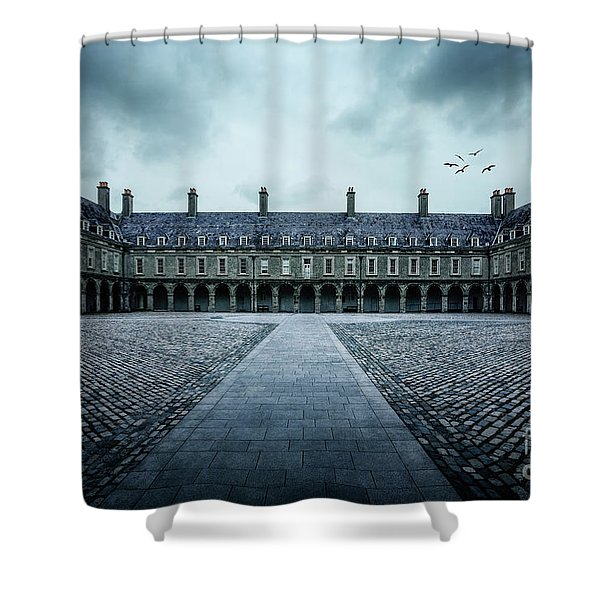 Trapped In Silence Shower Curtain