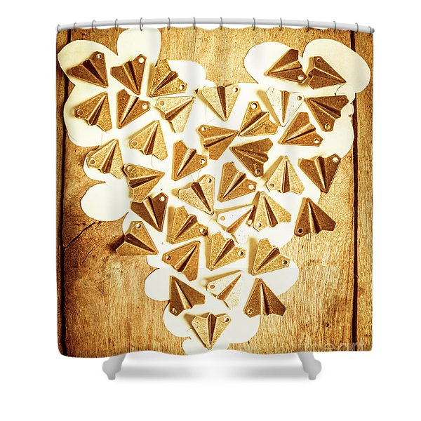 Travelling Love Shower Curtain