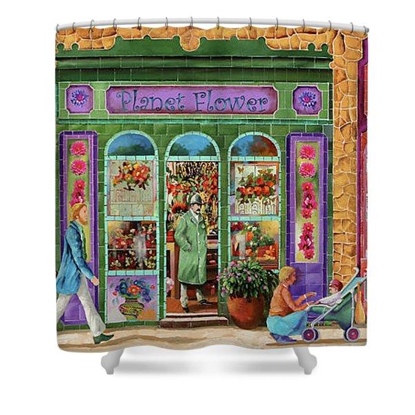 Tre Negozi Shower Curtain