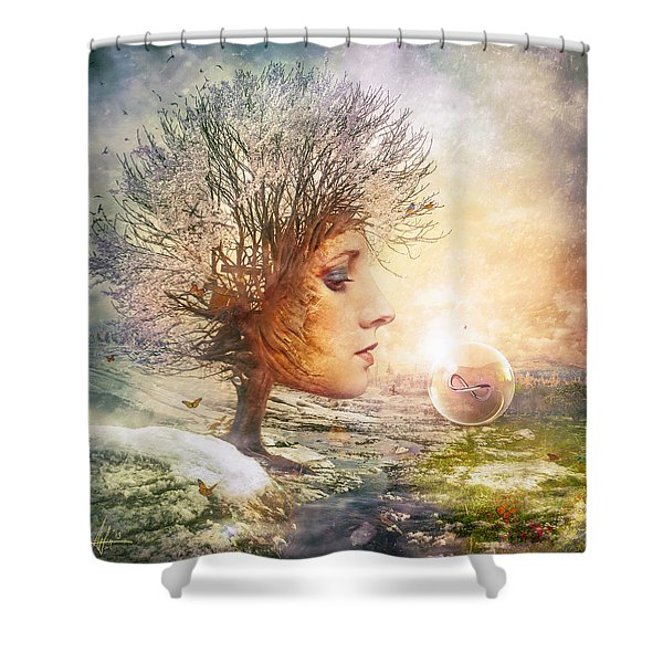 Treasure Shower Curtain
