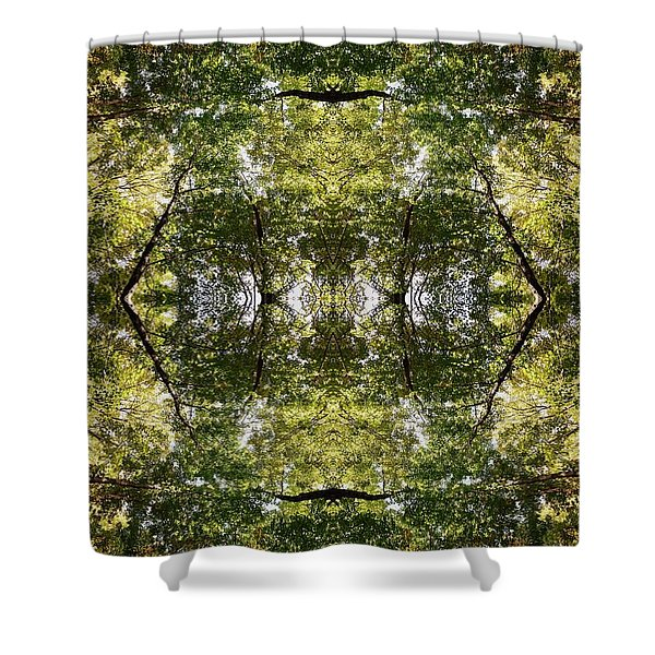 Tree No. 14 Shower Curtain