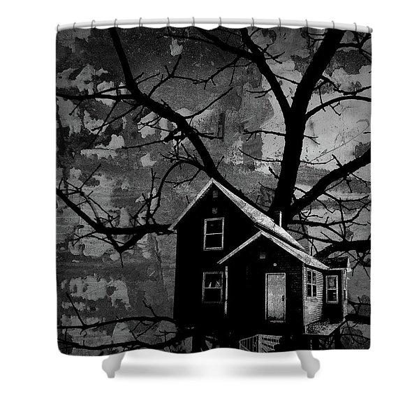 Treehouse II Shower Curtain