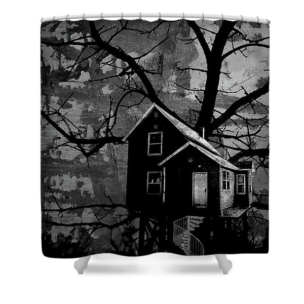 Treehouse II Shower Curtain