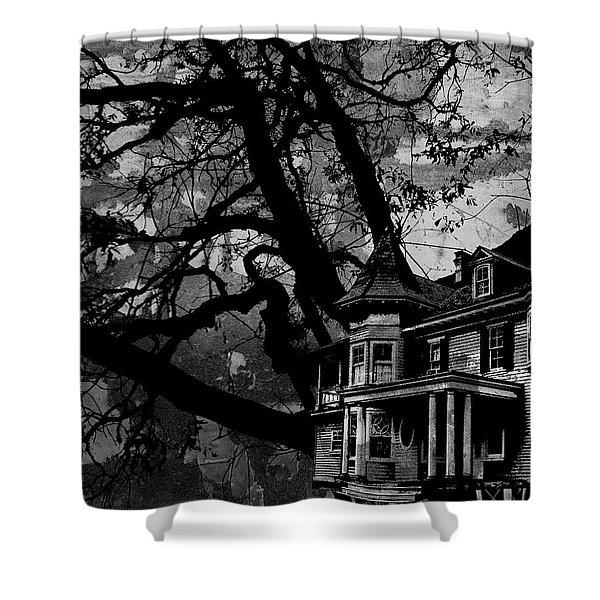 Treehouse IIi Shower Curtain