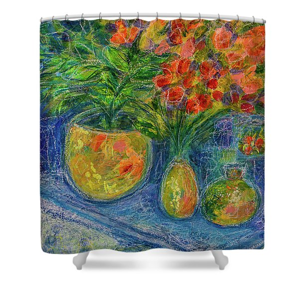 Trinkets Shower Curtain