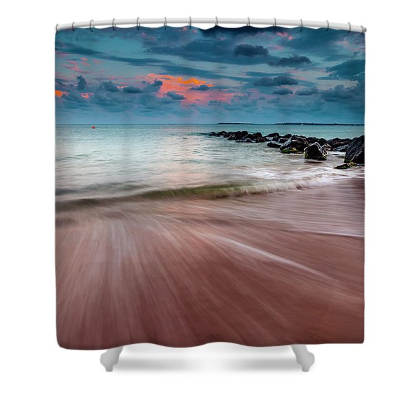 Tropic Sky Shower Curtain