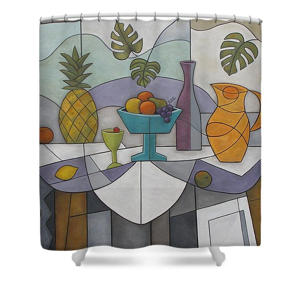 Tropical Delights Shower Curtain