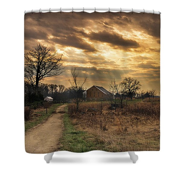 Trostle Sky Shower Curtain