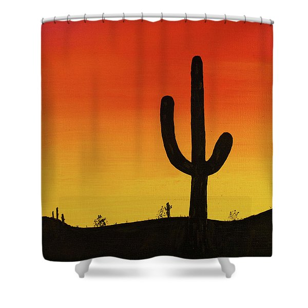 Truth Or Consequences Shower Curtain
