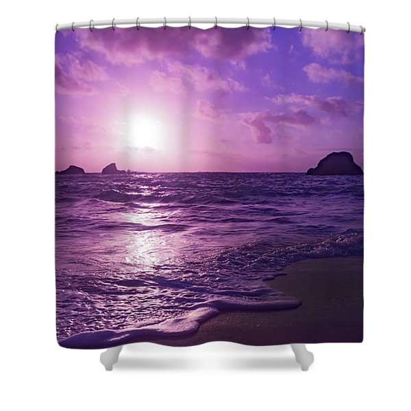 Turn Day Into Night Bermuda Shower Curtain