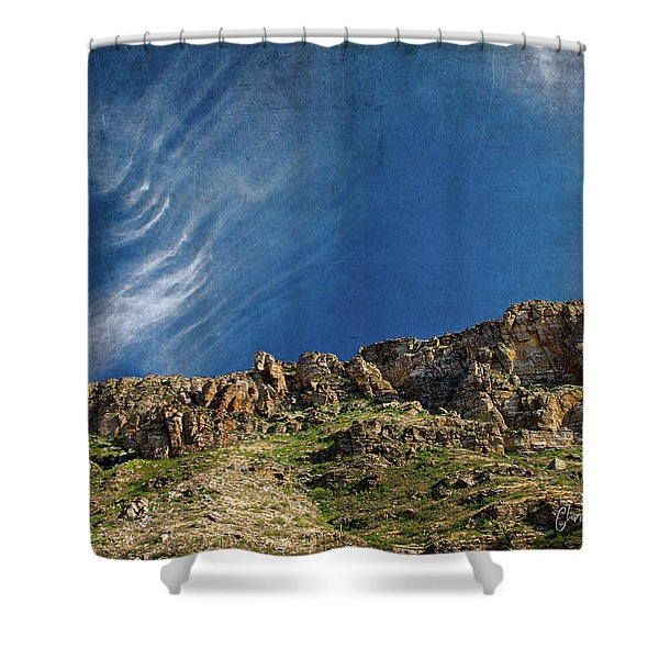 Tuscon Clouds Shower Curtain