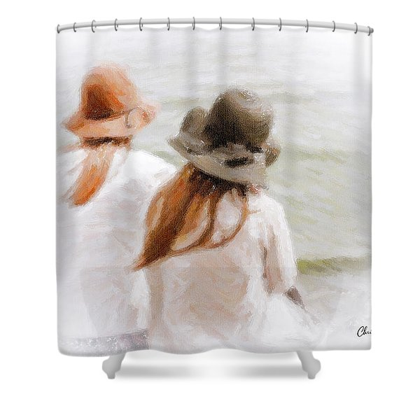 Two Dreamers Shower Curtain