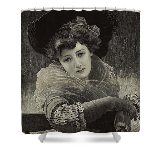Type Of Beauty, Xii  Shower Curtain