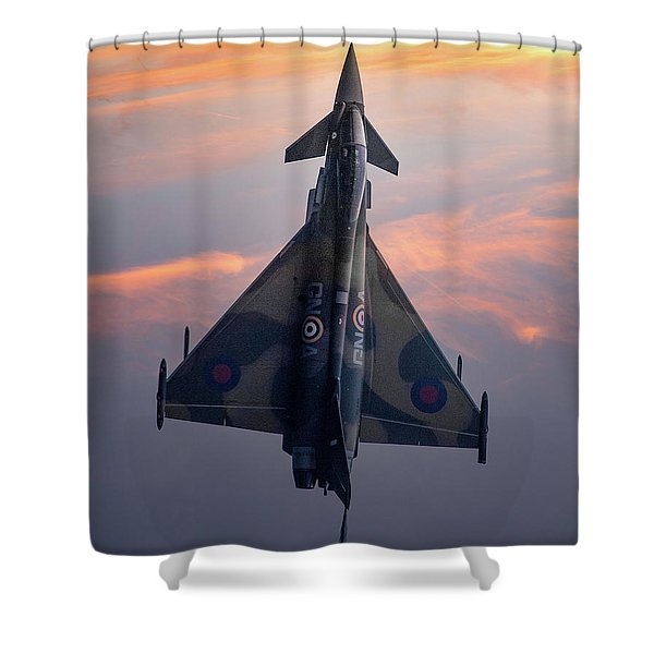 Typhoon Gina Shower Curtain