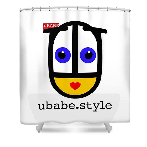 Ubabe De Stijl Shower Curtain