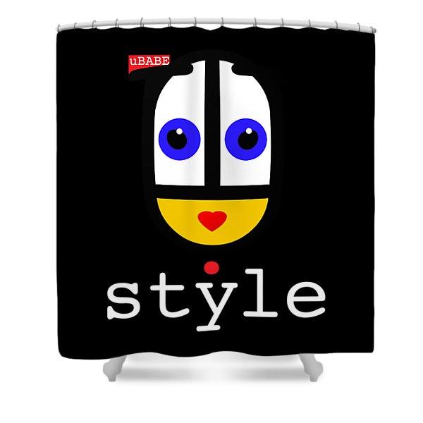 Ubabe Dot Style Shower Curtain