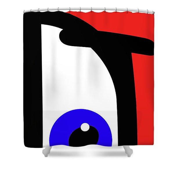 Ubabe French Shower Curtain