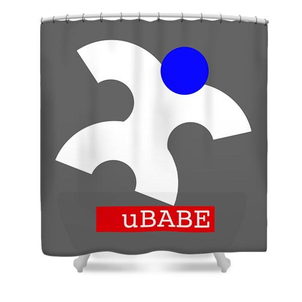 Ubabe Jazz  Shower Curtain