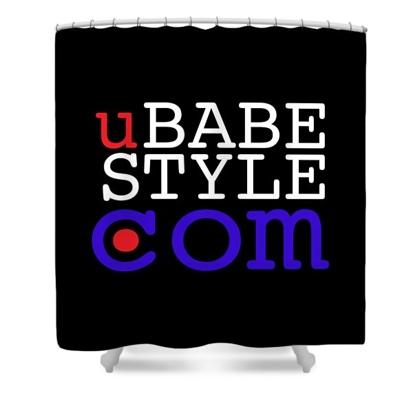 Ubabe Style Dot Com Shower Curtain