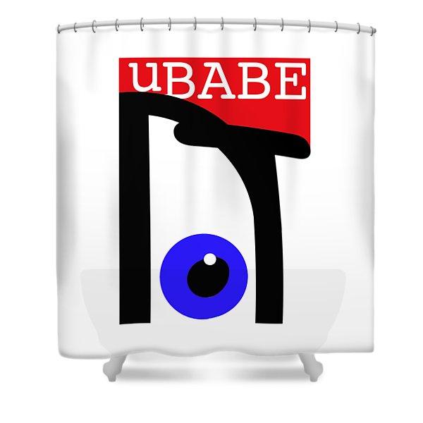 uBABE Shower Curtain
