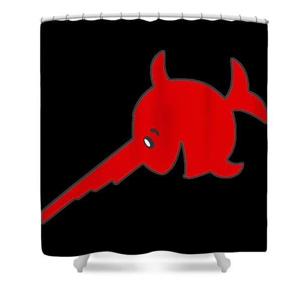 Uboat Swordfish Shower Curtain