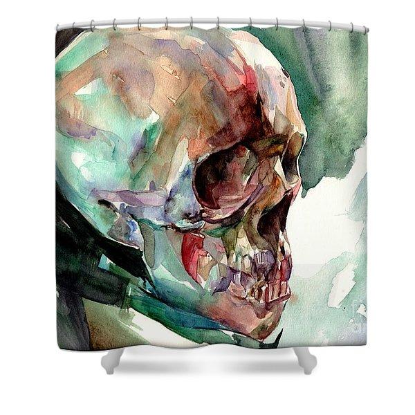 Unconfirmed Skull Shower Curtain