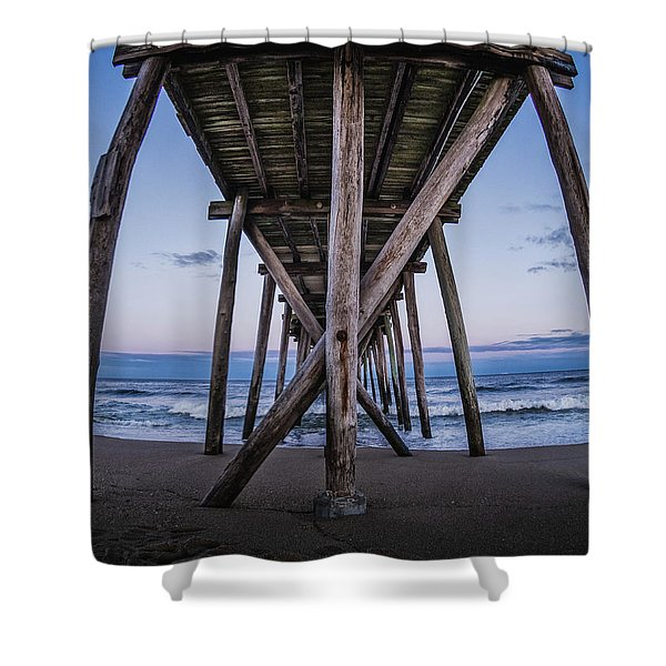 Under The Pier Shower Curtain