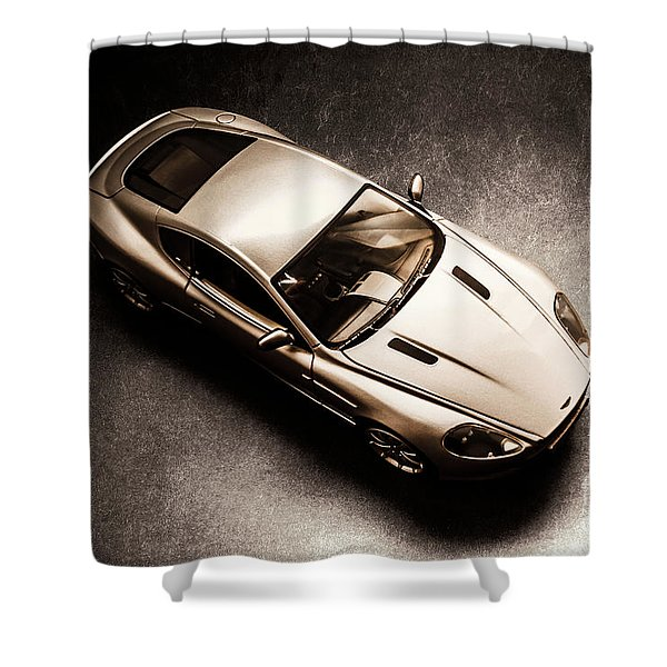 Underground Racer Shower Curtain