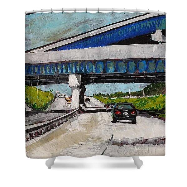 Underpass Z Shower Curtain