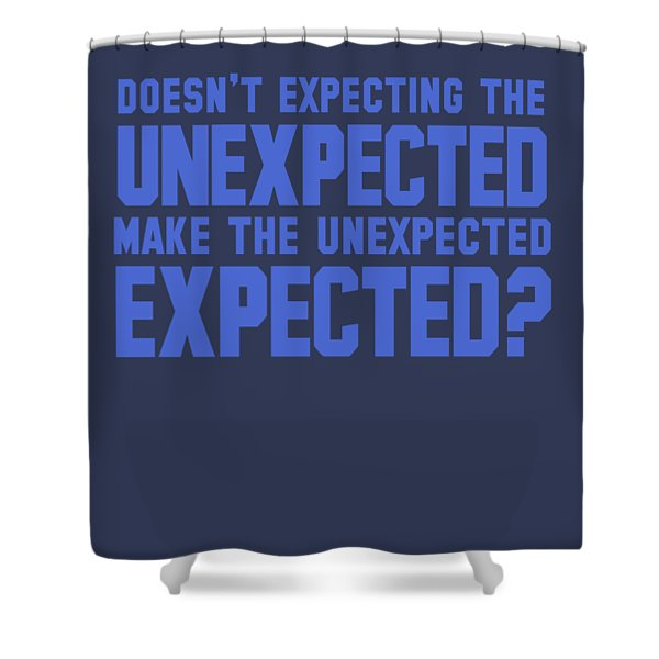 Unexpected Shower Curtain