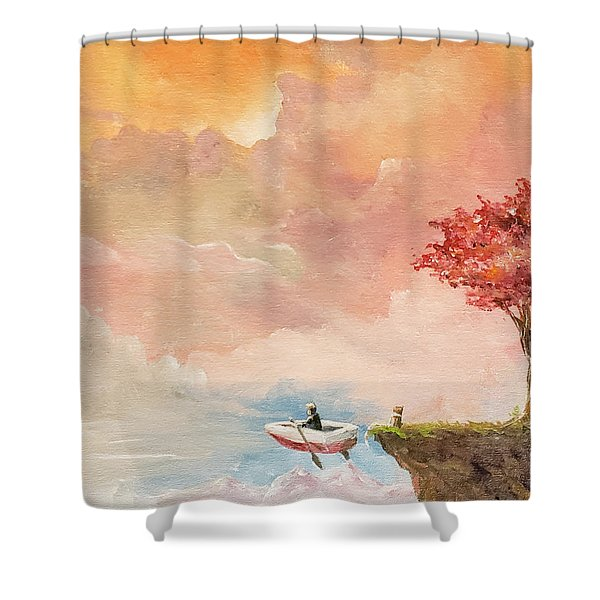 Unfettered Shower Curtain